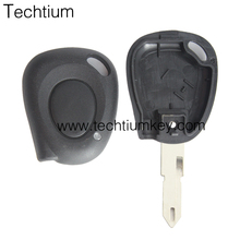 Renault cover Key car 1 Buttons Remote Key Shell Car Key Remote Covers with 206 blade