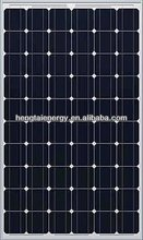 High efficiency mono/poly silicon solar module kit 130w