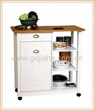 sobuy neu luxus-küchenwagen mit edelstahlplatte, küchenschrank ... - Küchenwagen Mit Mülleimer