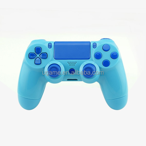 Ugame Custom Full Shell Mod Kit For PS4 Controller in Light Blue