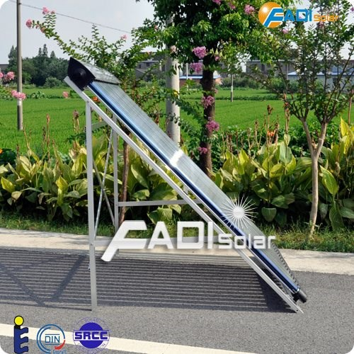 2016 Fadi Keymark and SRCC Certified 18Tube Evacuated Tube Solar Collector