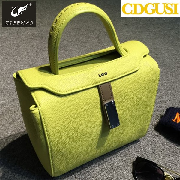 new 2015 women shoulder bag ice cream color candy color handbags