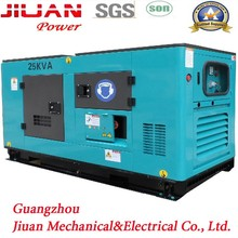 20kva 25kva 26kva tri-phase power water cooled generator lombardini diesel engines brushless alternator