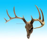 custom decorative resin artificial deer antlers for sale