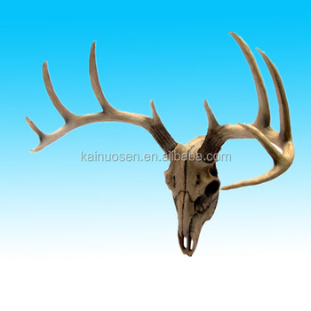 Custom decorative resin artificial deer antlers for sale for Fake deer antlers for crafts