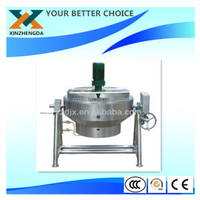 China 50 L Commercial Stainless Steel Jacketed Soup Kettle /steam interlayer pot/electric interlayer pot