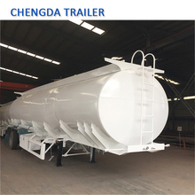 Small Compartment 30CBM 500 Gallon Fuel Transfer Trailer Tank For Sale