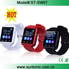 Wholesale touch screen cheap smart watch U8 OEM bluetooth for android and ios