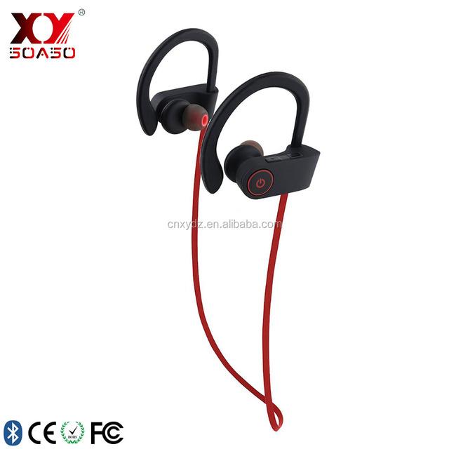 bluetooth earphone headphone earbuds, wireless sport stereo headset, sweatproof
