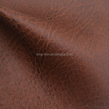 Classical distressed pu leather for sofa