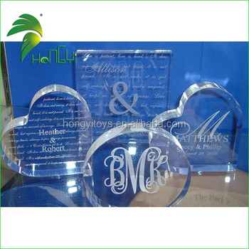 different shape acrylic products/acrylic ornament decoration craft for sales