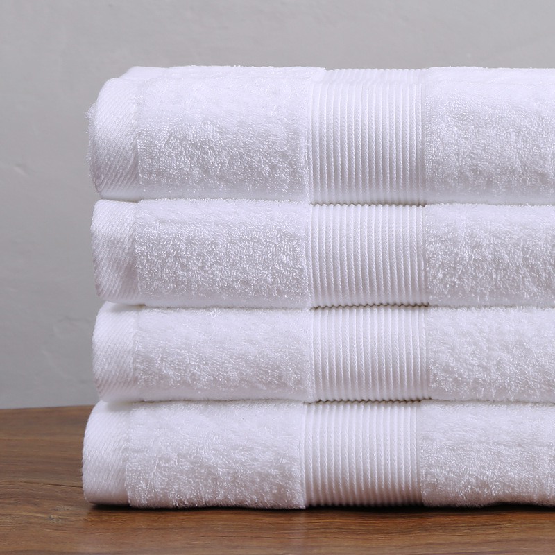 Custom Made 100% Cotton Wholesale Hotel Bath Towels
