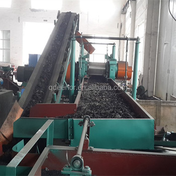 SGS/BV/ ISO/ CE certificate full automatic waste tyre recycling machine for rubber powder/granule