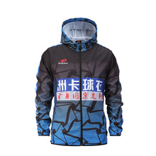 High quality Sublimation Printing Appeal Sublimation Running Jacket Design Your Own Mens And Women Soccer Windbreaker