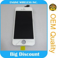 black & white screen mobile phone lcd display touch screen digitizer for iphone 5g