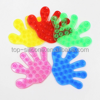New design fashion double side suction cup plastic and colorful sucker for bathroom