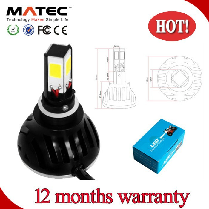 Factory Directly Headlight LED 25W 9-32V Motorcycle Spare Parts