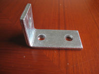 Hot Dipped Galvanised Steel Channel Fittings /C Channel Accessories/Angle Fittings