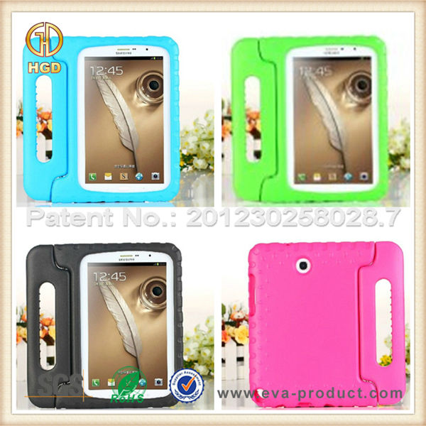 Kids friendly light weight protective cute case for samsung galaxy note 8.0