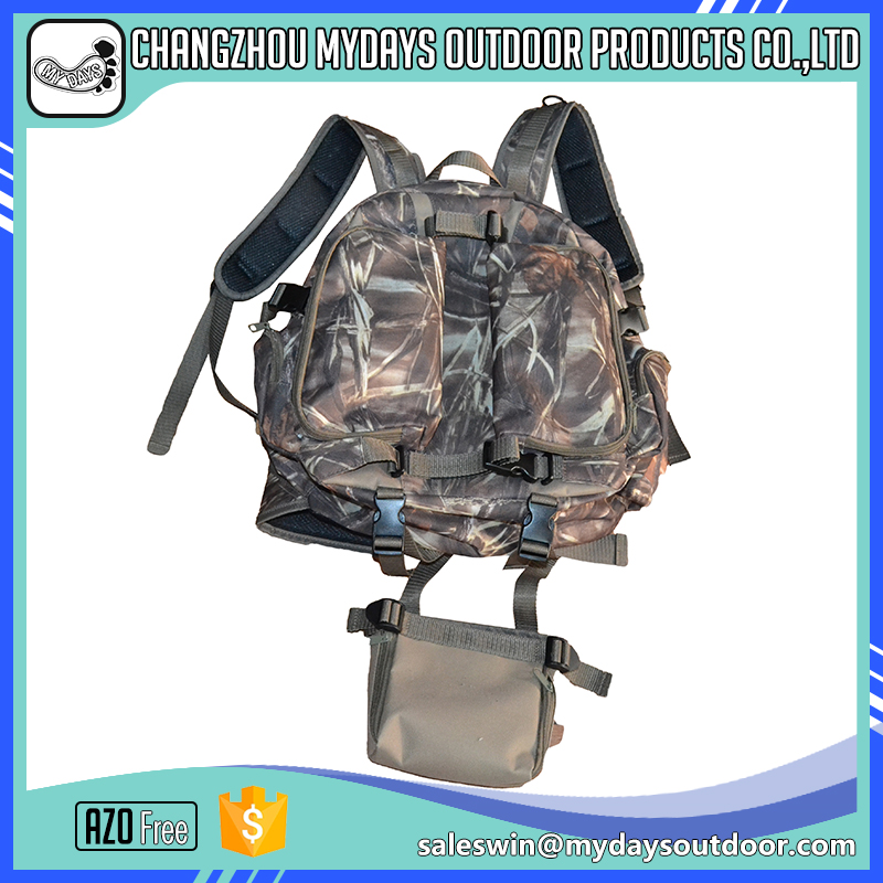 Environmentally outdoor large camouflage Hunting gun backpack pack bag