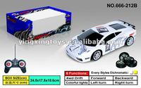 Hot sale new design plastic 1:24 4wd rc drift car
