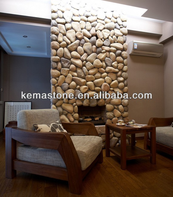 High quality gas stone fireplace frame