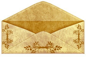 2015 most window envelope origin work/ gift certificate envelopes(3w01)