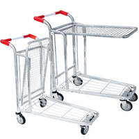 Easy to assemble warehouse platform heavy duty warehouse logistic trolleys Warehouse Logistic Carts