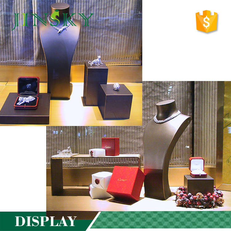 Custom design metal earring tree jewelry display stands units