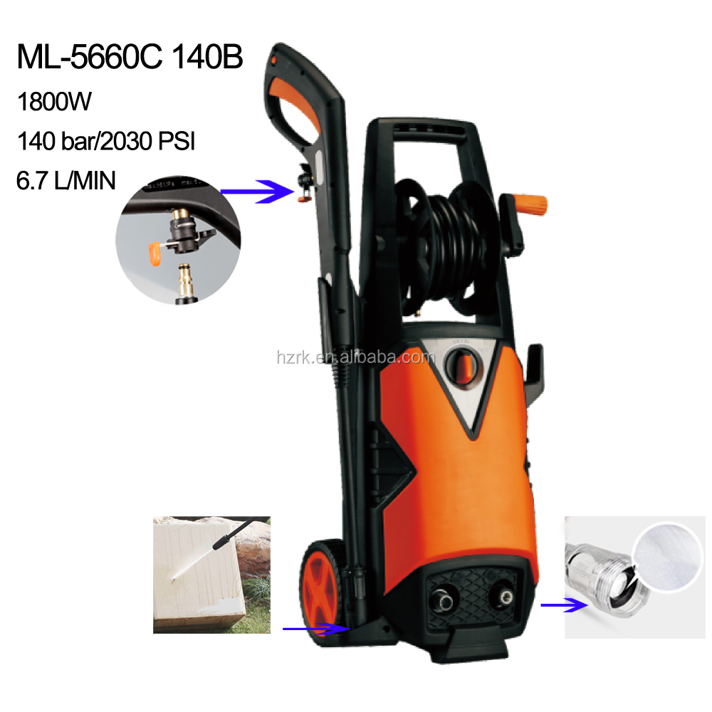 140bar/2030psi portable high pressure washer car cleaner