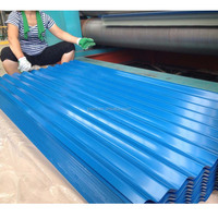 High Level High Quality High-Strength Prepainted Corrugated steel sheet PPGI Roofing