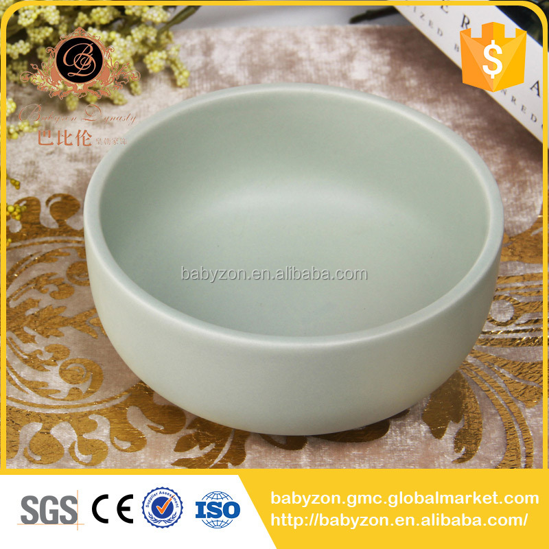 Holloween products large round modern family use ceramics cheap decorative bowl
