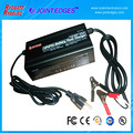 12.8V 14.6V 10A LiFePo4 battery charger with Aligator Clips