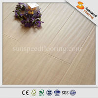 High quality easy lock handscraped hickory laminate flooring
