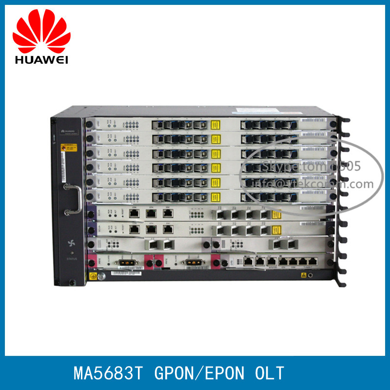 Original Brand New 8Ports to 96Ports Huawei MA5683T GPON OLT