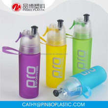 Promotional 500ML Ice Cube Water Bottle Misting Spray