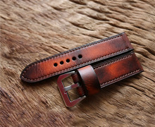 real leather handmade 22nn watch band strap for men smart watch