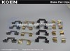 Supply Brake Pad Clips FMSI D1479-8542 LR051626 FER 4212 FF Use For iLAND ROVER