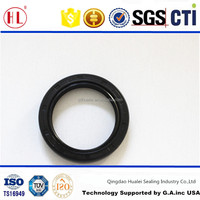 TC 35x47x7 double lip nbr rubber covered automobile oil pump oil seal