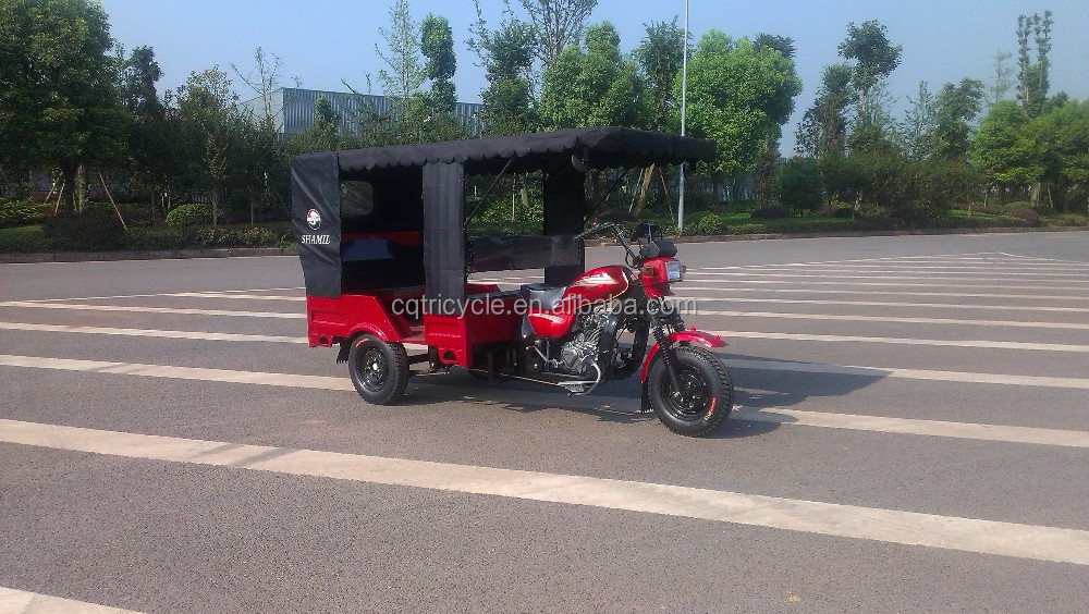 4 stroke engine thpe and gas/diesel fuel scooter passenger tricycle