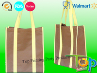 Supermarket reusable shopping bags