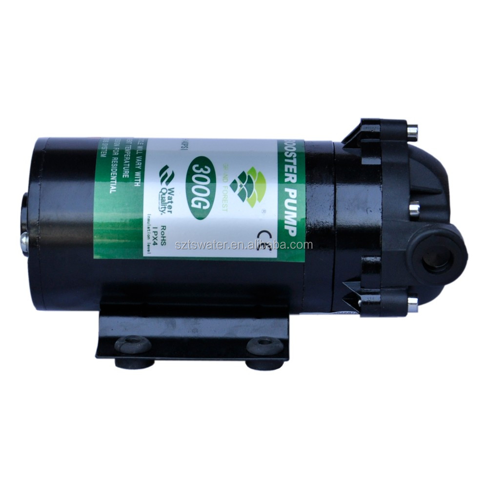 Small 300g Green Pump 24v Dc Water Booster Pump Electric