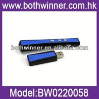 Wireless presenter 5 watt laser pointer pen BW044