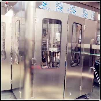 low noise beer bottle filling machine meet filling technical requirements
