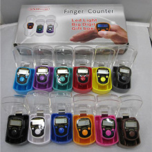 12 color hand finger tally counter led digital counter for best price