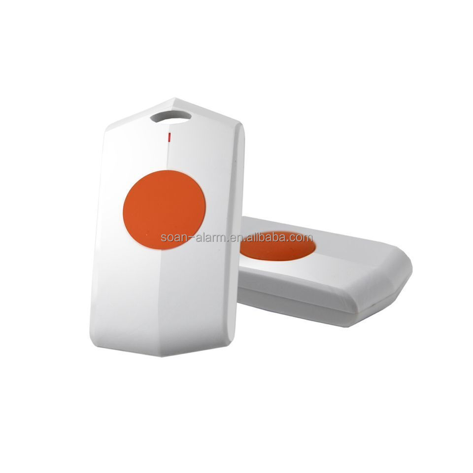 Sos panic button first aid wireless gsm security device intelligent gsm sms control