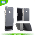 Rubberized Printable Armor Phone Stand Cover Case for Huawei P8 Lite