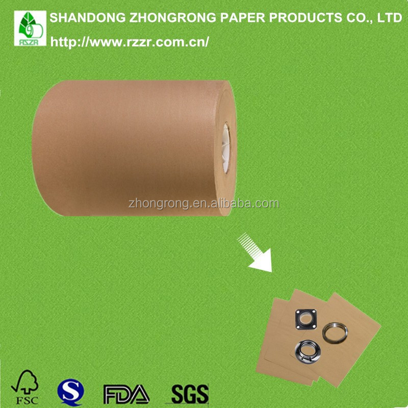 PE coated brown kraft paper for metal packing