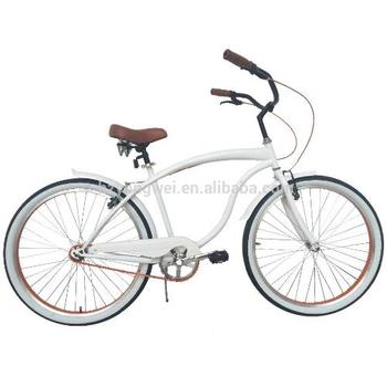"26"" Comfortable Vintage Cruiser Bike With New ISO Certification"