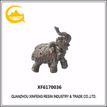 Polyresin elephant statues wholesale resin animal sculpture garden
